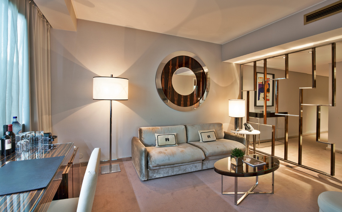 Junior Suite Living Room | Altis Grand Hotels | Lisbon Hotels